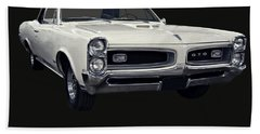 1966 Pontiac Gto Convertible Beach Towel