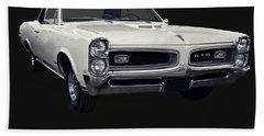 1966 Pontiac Gto Convertible Beach Sheet