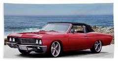 1967 Buick Skylark Gs Convertible I Beach Towel