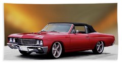 1967 Buick Skylark Gs Convertible II Beach Towel