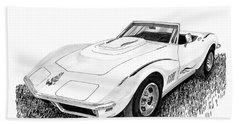 1968 Corvette Beach Sheet by Jack Pumphrey