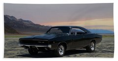 1968 Dodge Charger Rt 440 Beach Towel