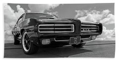 1969 Pontiac Gto The Goat Beach Towel