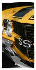 1970 Chevelle Ss396 Ss 396 Yellow Beach Towel
