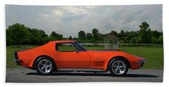 1970 Corvette Stingray Beach Towel