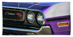 1970 Dodge Challenger Rt 440 Magnum Beach Towel by Gordon Dean II