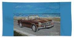 1970 Mercedes Benz 280 Sl Pagoda Beach Sheet