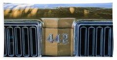 1970 Oldsmobile 442 Convertible Emblem -0989c Beach Towel