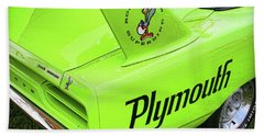 1970 Plymouth Superbird Beach Towel by Gordon Dean II