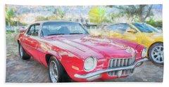 1971 Chevrolet Camaro C126 Beach Towel