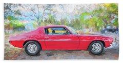 1971 Chevy Camaro C126  Beach Towel