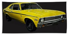 1971 Chevy Nova Yenko Deuce Beach Sheet by Chris Flees