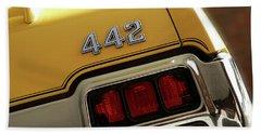 1972 Oldsmobile Cutlass 4-4-2 Beach Sheet