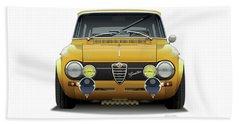 1974 Alfa Romeo Giulia Beach Towel