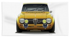 1974 Alfa Romeo Giulia Beach Sheet