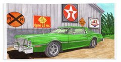 1976 Ford Thunderbird Beach Sheet by Jack Pumphrey