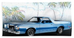 1979 Ranchero Gt 7th Generation 1977-1979 Beach Towel