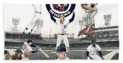 1984 Detroit Tigers Beach Sheet