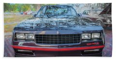 1987 Chevrolet Monte Carlo Ss Coupe C120 Beach Sheet by Rich Franco