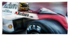 Racing 1989 Monaco Grand Prix Beach Towel