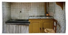 19th Century Kitchen In Amsterdam Beach Sheet by RicardMN Photography