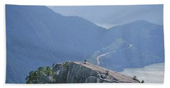 1m2918 South Summit Stawamus Chief From Second Summit Beach Towel