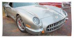 1954 Corvette Nomad Beach Towel