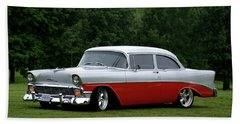 1956 Chevrolet Beach Sheet