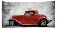 3 Window Coupe Beach Sheet by Keith Hawley