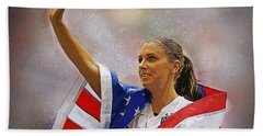 Alex Morgan Beach Towel
