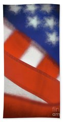 American Flag Beach Towel by George Robinson