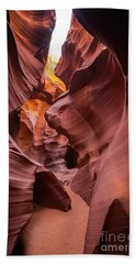 Antelope Canyon Beach Towel by JR Photography
