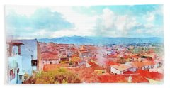Arzachena View Beach Towel