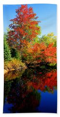 Autumn Splendor Beach Sheet