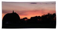 Barn Sunset Beach Sheet