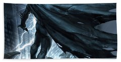 Batman The Dark Knight Returns 2012 Beach Towel