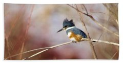 Belted Kingfisher Beach Sheet