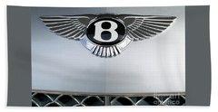 Bentley Emblem Beach Sheet