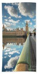 Beach Sheet featuring the photograph Big Ben London by Adrian Evans