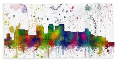 Birmingham Alabama Skyline Beach Towel