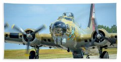 Boeing B-17g Flying Fortress   Beach Sheet