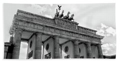 Brandenburg Gate - Berlin Beach Towel
