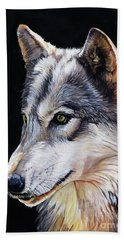 Brother Wolf Beach Towel
