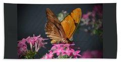 Beach Sheet featuring the photograph Butterfly by Savannah Gibbs