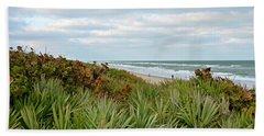 By The Sea Beach Towel by Carol Bradley