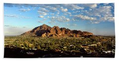 Camelback Mountain, Phoenix Arizona Beach Towel
