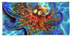 Caribbean Octopus Beach Towel