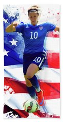 Carli Lloyd Beach Towel