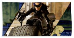 Catwoman Collection Beach Towel