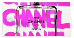 Chanel Chanel Chanel  Beach Towel